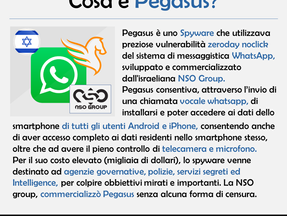 Per la serie #spyware tools, oggi vi presentiamo pegasus.