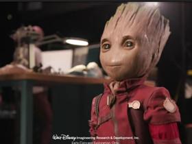 Walt Disney ricrea Groot. Un Robot autonomo.
