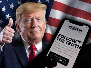 "Trump bandito dai social, crea il suo social: ""Truth Social""."