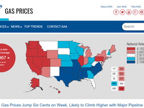 Usa: I prezzi della benzina aumentano a causa dell'attacco informatico al gigante dell'energia.