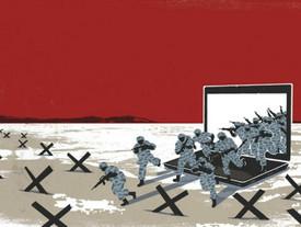 Cyberwar: l'evoluzione della specie della guerra tradizionale.