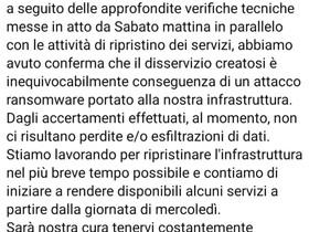 Scuole italiane sotto attacco Ransomware.