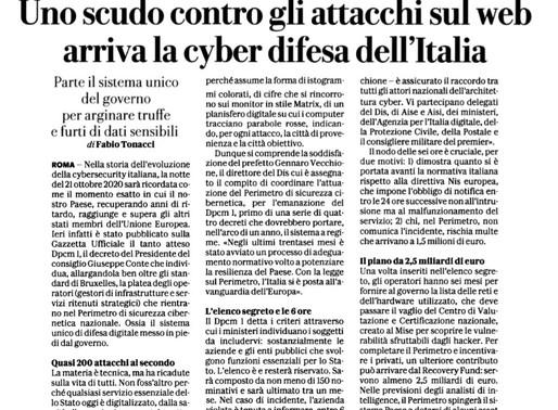 Italia: Uno scudo contro gli attacchi cyber