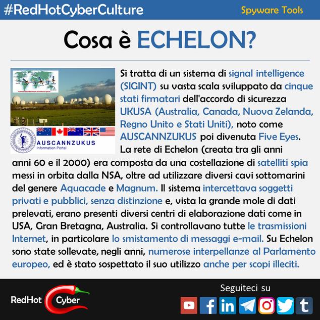Cosa è Echelon?