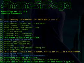 Programmi hacker: scopri tutto da un numero di telefono con PhoneInfoga