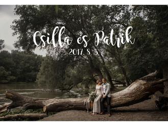 Csilla és Patrik miniesküvője