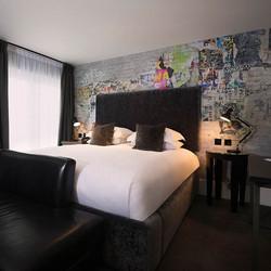 malmaison belfast bedroom