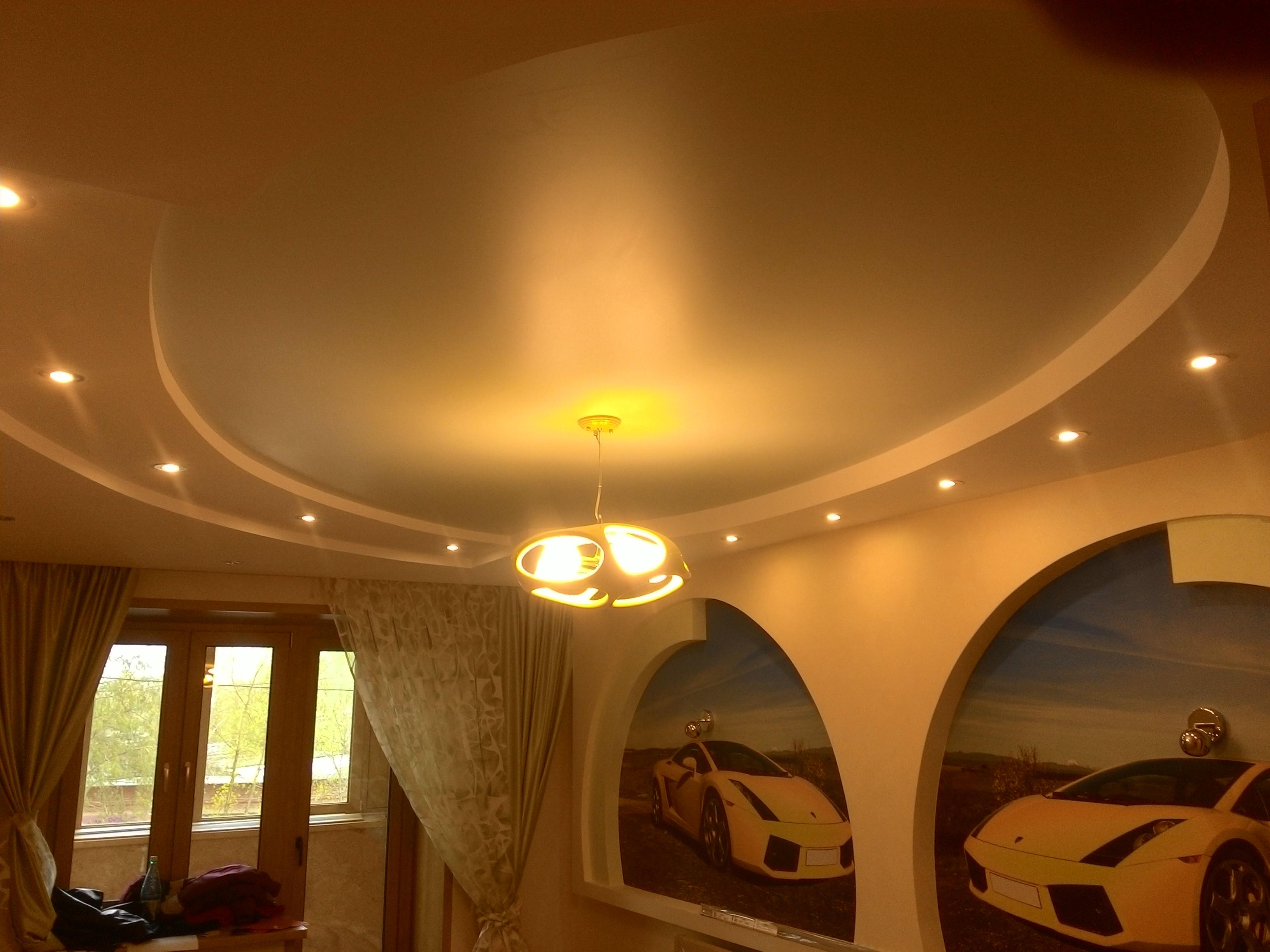 Просто красивый потолок