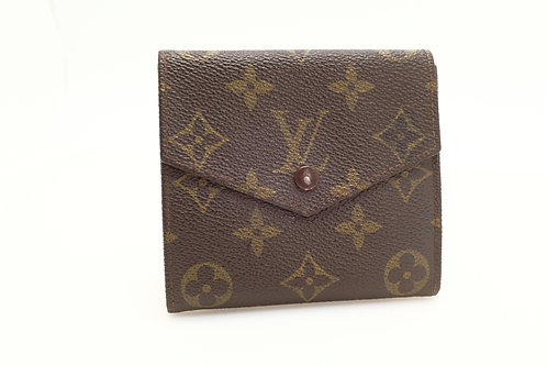 Buy pre owned Louis Vuitton Compact Button Snap Bifold