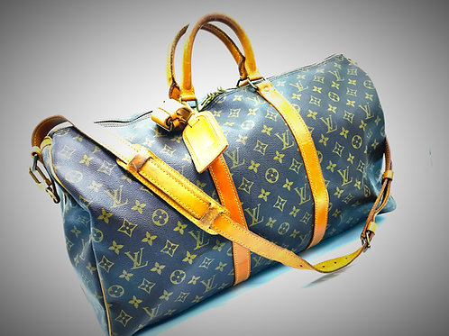 buy pre loved Louis Vuitton Keepall Bandouliere 50