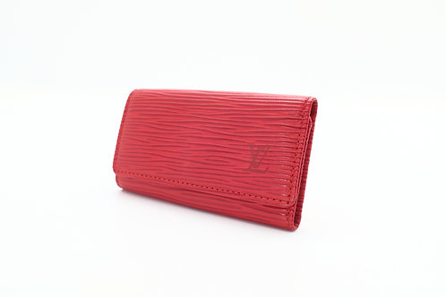 Louis Vuitton Vintage Multicles 4 in Epi Red