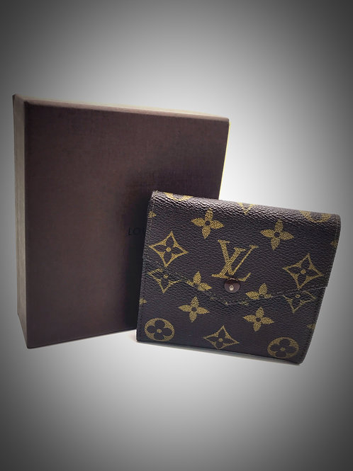 Louis Vuitton Compact Bifold Wallet in Monogram Canvas