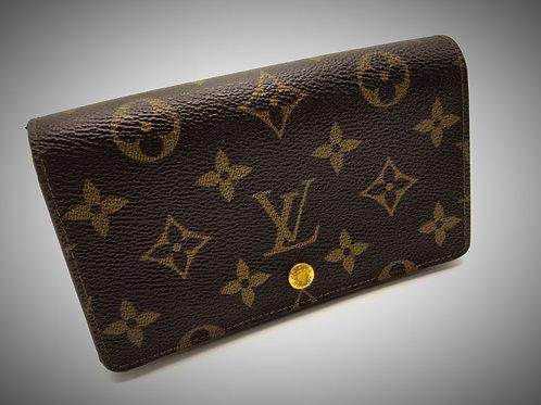 Louis Vuitton Tresor Wallet in Monogram Canvas