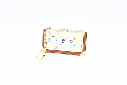 Buy preloved Louis Vuitton Pochette Cles Multicolor