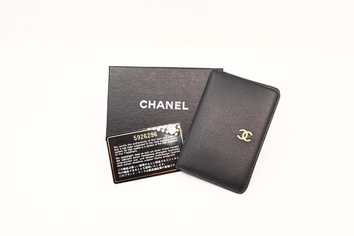 Chanel card holder with box and authentication card