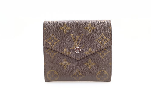 Louis Vuitton Vintage Button Snap Compact Bifold