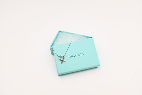 Tiffany Necklace Loving Heart