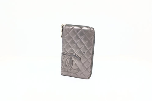 Buy preloved Chanel Cambon Travel Organiser Silver
