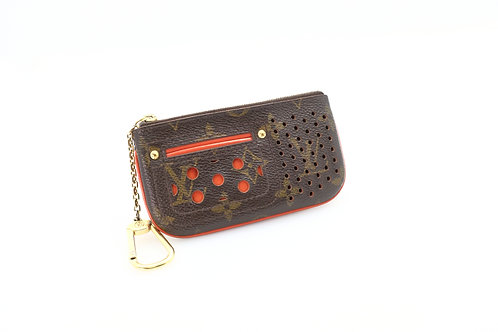 Louis Vuitton Cles Perforated orange