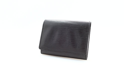Louis Vuitton Epi Black Card Case