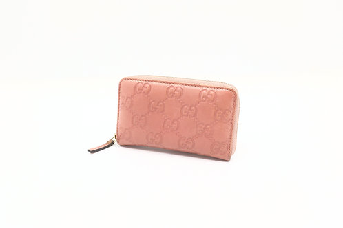 Gucci Zipped Card/Coin Case, Guccissima
