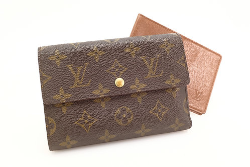 Buy beautiful pre loved LV porte papier trifold wallet