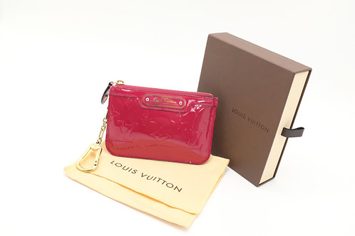 Louis Vuitton Pochette Cles in Indian Rose
