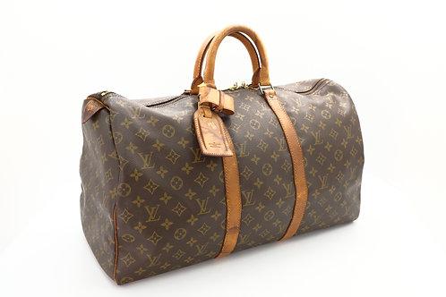 buy pre loved Louis Vuitton Keepall 50