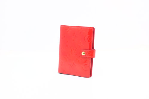 Louis Vuitton Agenda PM Vernis Red