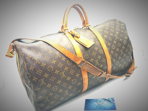 Pre loved Louis Vuitton Keepall 55 bandouliere