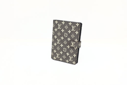 Louis Vuitton Agenda PM in Black Idylle Canvas