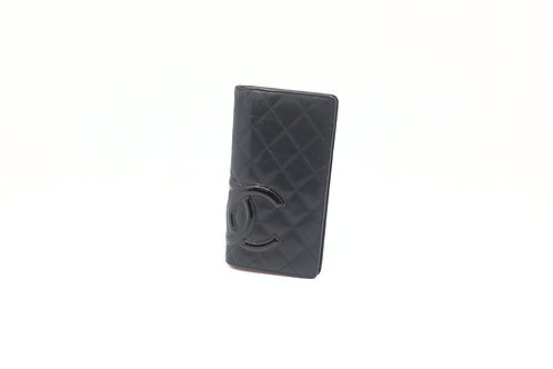 Buy pre owned Chanel cambon bill fold wallet