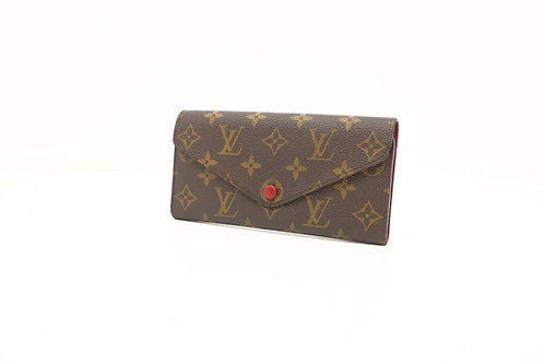 Louis Vuitton Josephine Wallet Red with insert
