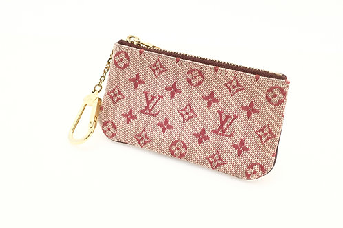 Buy pre loved Louis Vuitton Cles minilin red