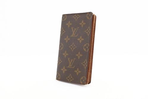 Louis Vuitton Billfold Long Wallet in Monogram Canvas