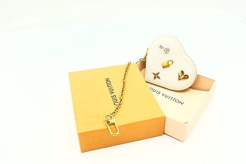 Louis Vuitton Love Lock Heart shaped coin case