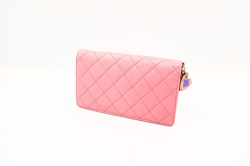 Chanel Matelasse Long Bill-fold Wallet