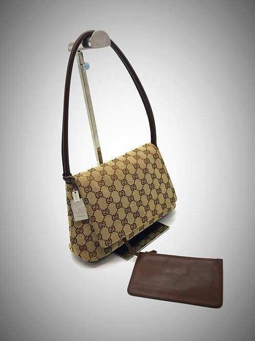 buy Gucci handbag with pouch and dog tag