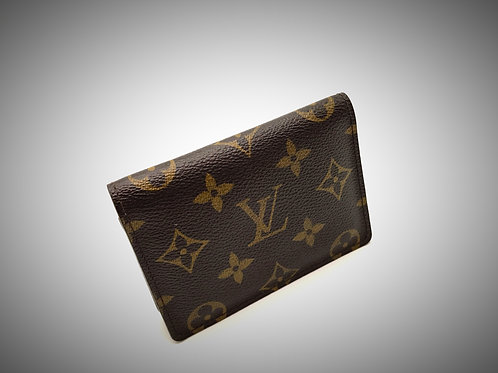 Louis Vuitton ID Card Holder in Monogram Canvas