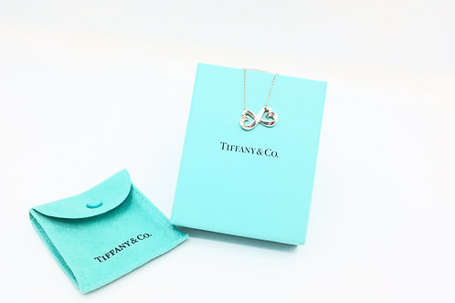Tiffany & Co. Double Loving Heart Necklace