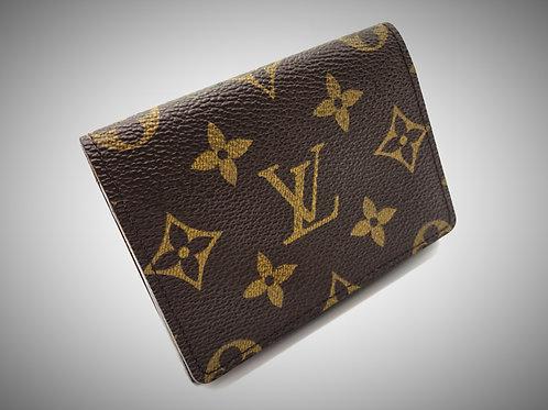 pre loved Louis Vuitton card holder