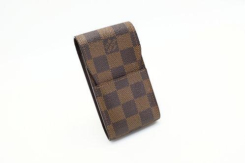 Louis Vuitton Cigarette Case in Damier Ebene Canvas