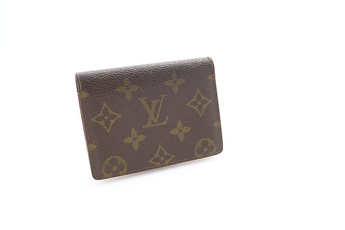 Vintage Louis Vuitton Card Case ID Holder