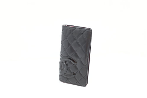 Pre owned CHANEL cambon billfold wallet