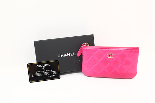 Buy chanel matelasse card holder pouch