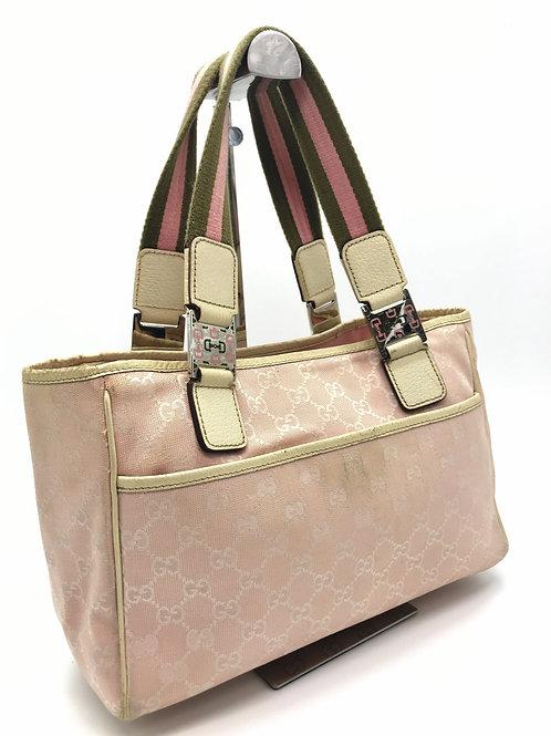Gucci handbag pink monogram