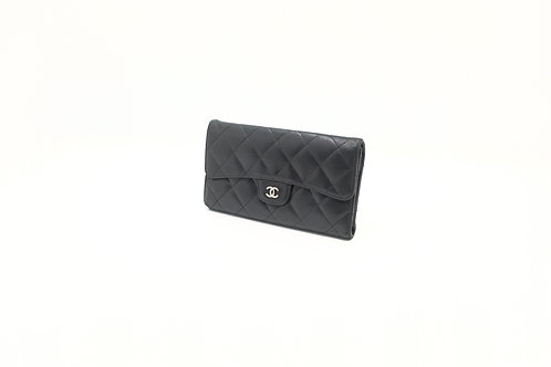 Chanel Matelasse quilted Lambskin Long wallet