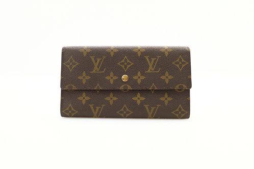 Louis Vuitton Vintage International Wallet in Monogram
