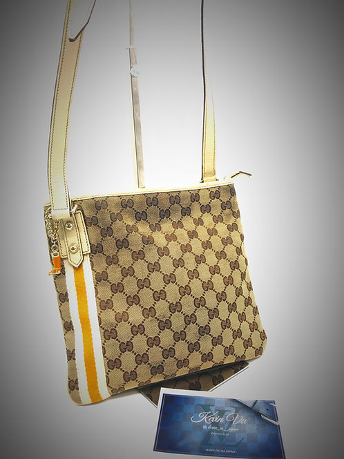 buy Gucci crossbody saddle bag with charm