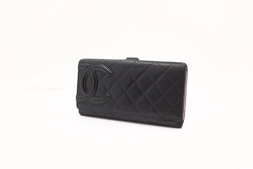 Chanel Cambon Line Long Wallet